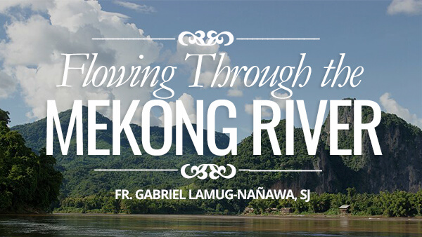 Flowing Through the Mekong River