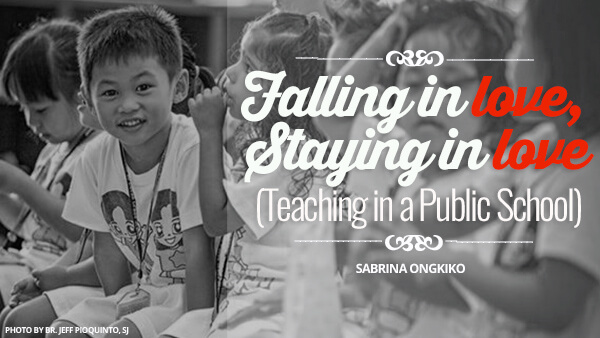 Falling in Love, Staying in Love (Teaching in a Public School)