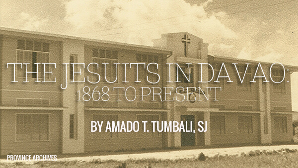 The Jesuits in Davao: 1868 to present