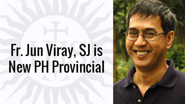 Fr. Viray is New Provincial of the Philippine Jesuits