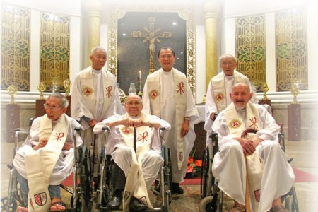 Caring for our elderly and infirm Jesuits this Lent