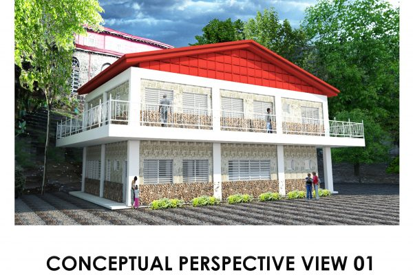 Construction of the Fr. Manuel  Valles SJ Parish and Rectory in Culion, Palawan