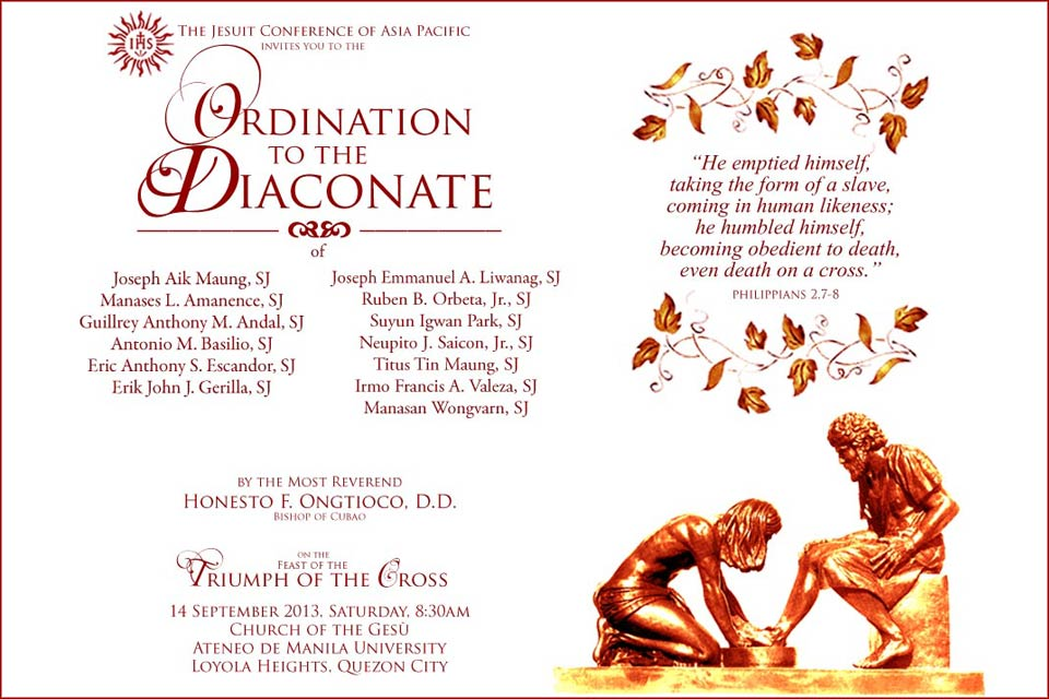 Deacon Ordination Invitation Click On The Image Above To