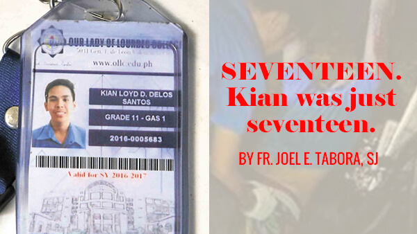 Seventeen. Kian was just seventeen.