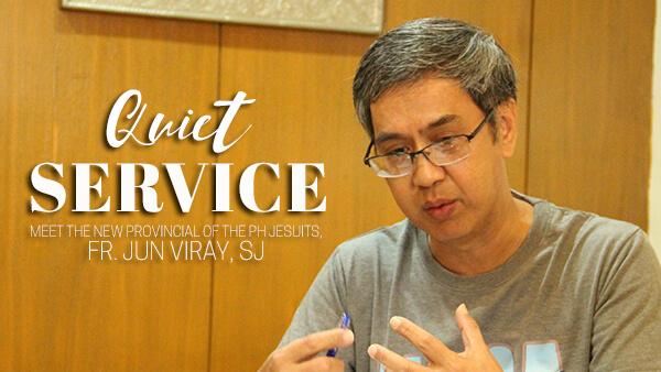 Quiet Service: An Interview with Fr. Jun Viray, SJ